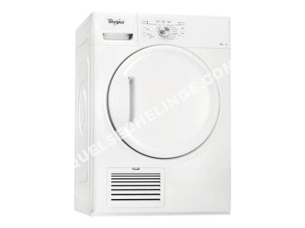 s che linge whirlpool s che linge condensation hdlx80310 au meilleur pri. Black Bedroom Furniture Sets. Home Design Ideas